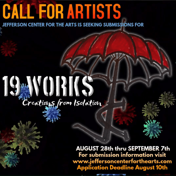 Call for submissions for 19 Works art event